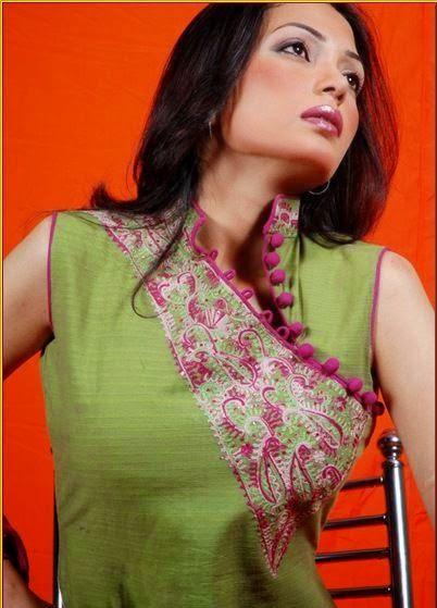 Stylish Fashion Base Women Neck Designs For Salwar Kameez Suits