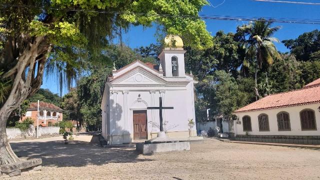 Paquetá, Rio de Janeiro. Visite a Capela São Roque