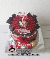 Blackforest Cake Full Cherry