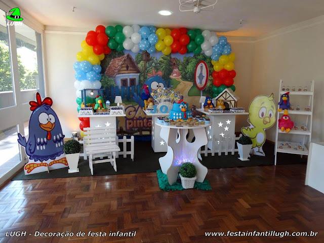 Decoração Galinha Pintadinha para festa de aniversário infantil  - Barra da Tijuca (RJ)