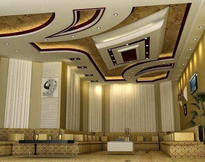 New Year 2014 Modern False Ceiling Designs For Decorations