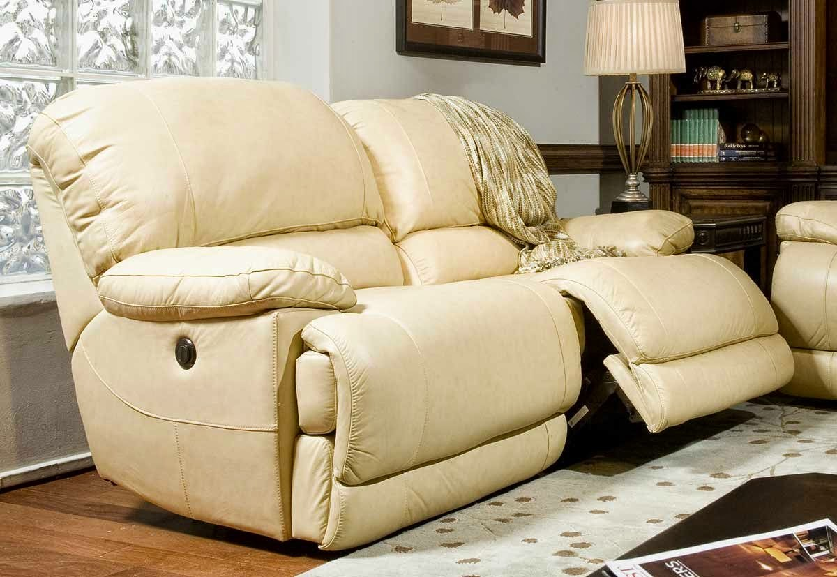 The Best Reclining Leather Sofa Reviews: White Leather ...