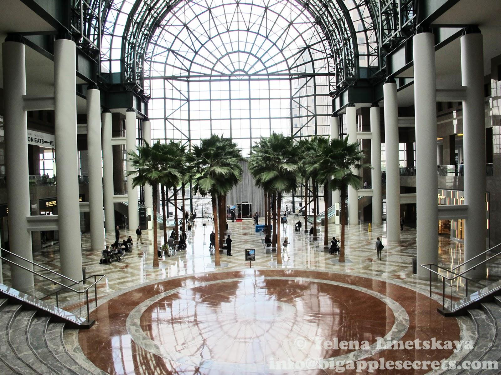 Garden Walk Mall: Big Apple Secrets: World Financial Center