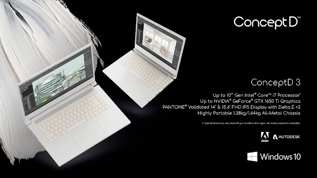 Acer ConceptD 3 Notebooks