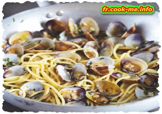 Spaghettis aux palourdes