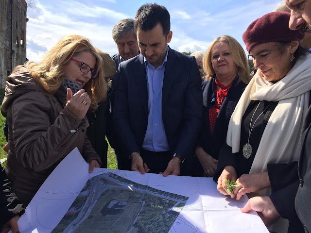Τον χώρο ανέγερσης του Αρχαιολογικού Μουσείου Σπάρτης επισκέφθηκε η Υπουργός Πολιτισμού και Αθλητισμού
