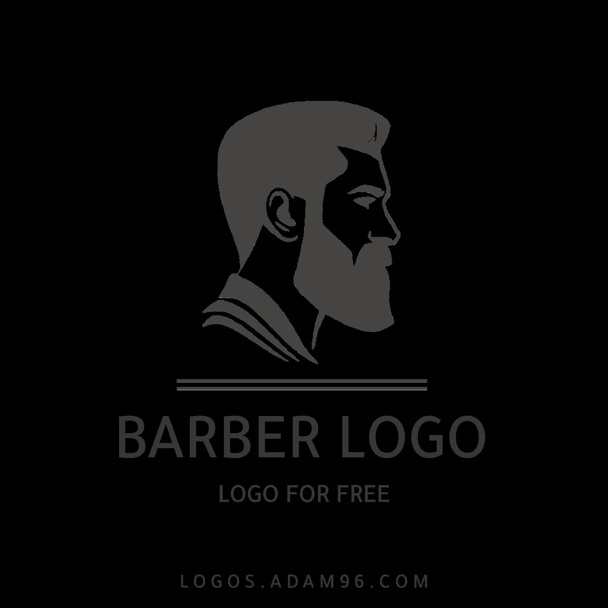 Download barber Shop logo PNG - Free Vector