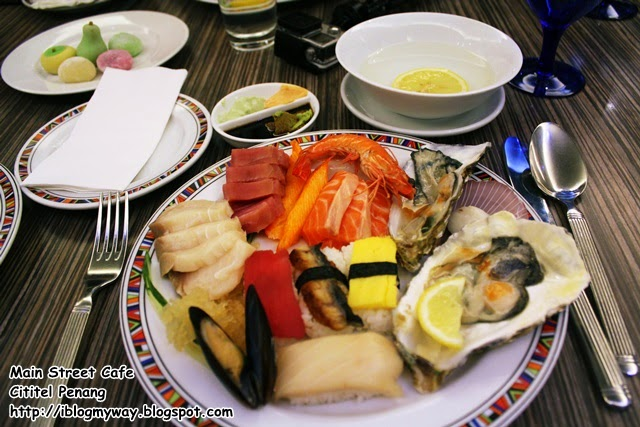 Theme Buffet Dinner, Main Street Cafe, Cititel Penang