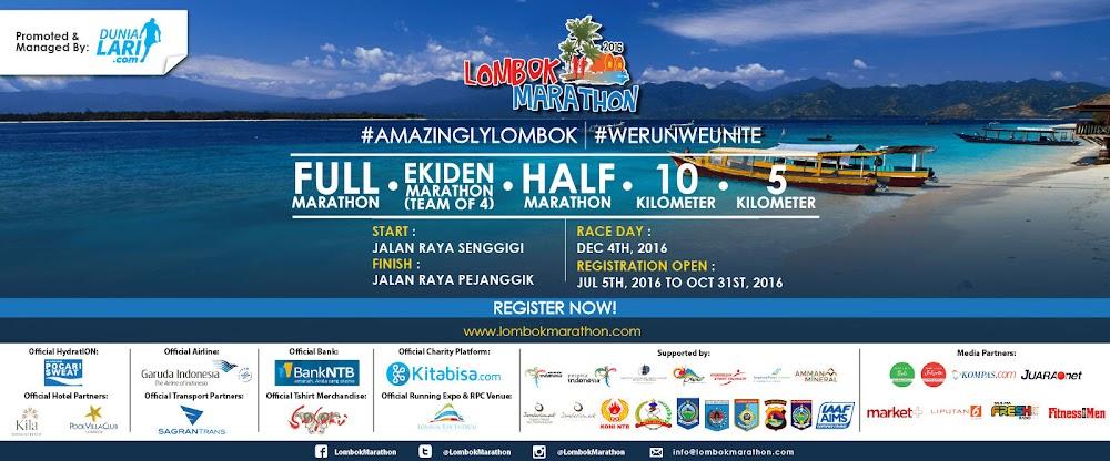 Lombok Marathon • 2017