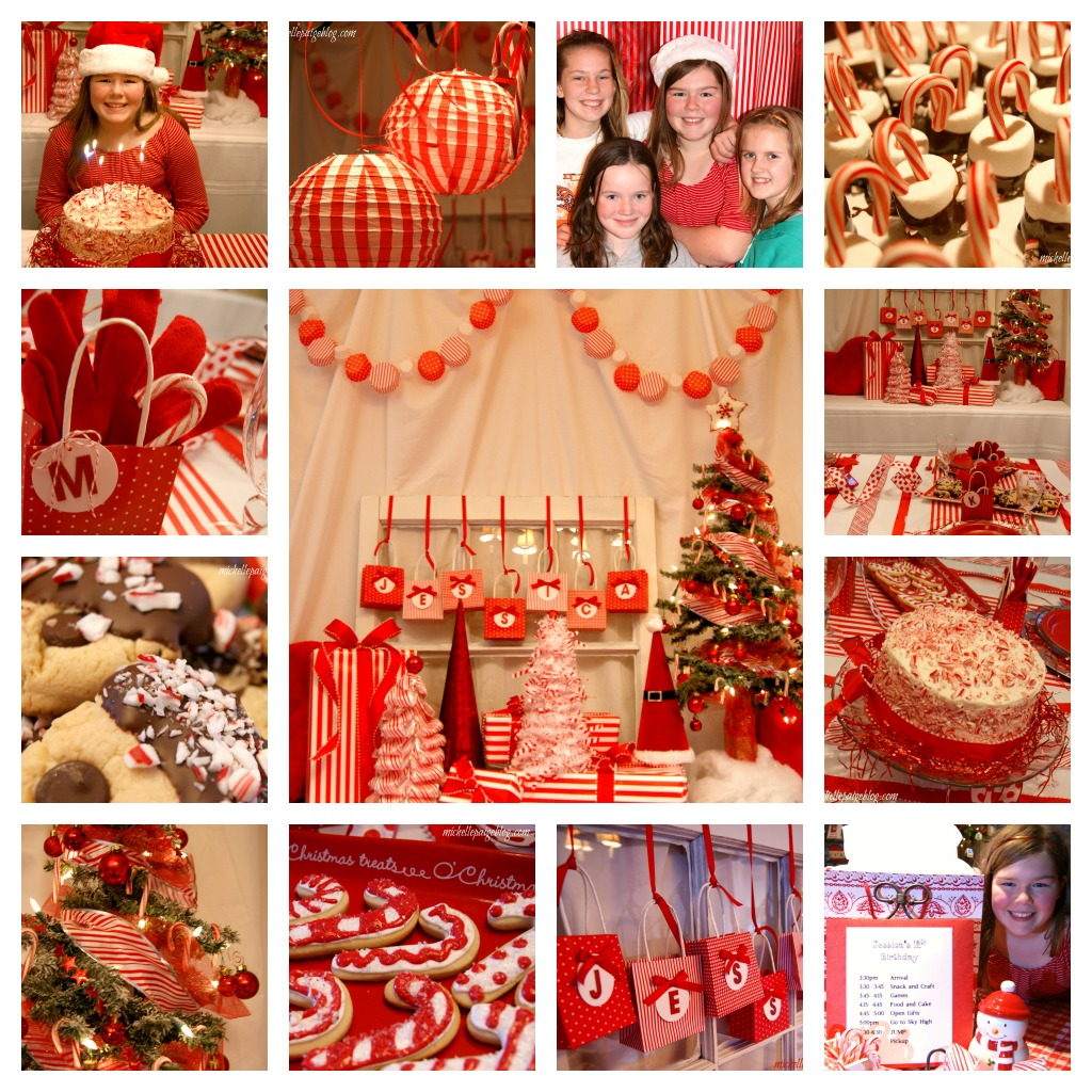 Party Decorations Halloween: Michelle Paige Blogs: Red And White Candy Cane Party