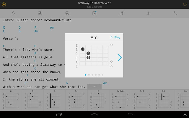 Ultimate Guitar Tabs & Chords Apk free Download
