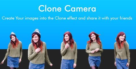 تطبيق Clone Camera لعمل نسخ متعددة لأي شخص في نفس الصورة.