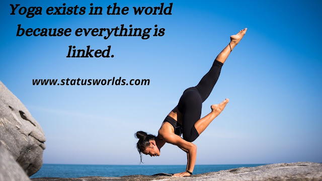 Yoga Status, Captions,  and Quotes
