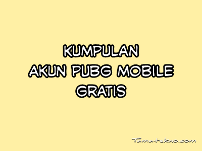 Gambar akun PUBG mobile gratis
