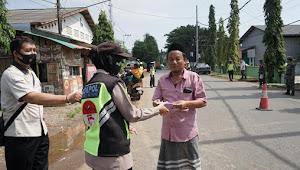 Selain Bagikan Masker Gratis, Satgas COVID-19 Kabupaten Batang Gencar Operasi Yustisi
