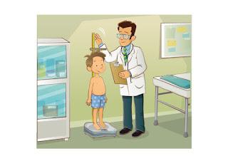 ilustración  de medico con niño CANAM
