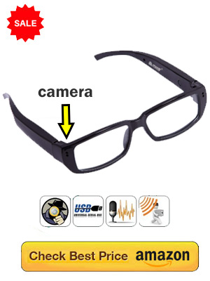 Spy Camera Spectacles