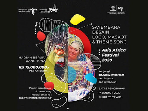 Sayembara Desain Logo Asia Africa Festival 2020