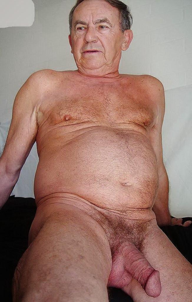 fat hairy grandpa nude