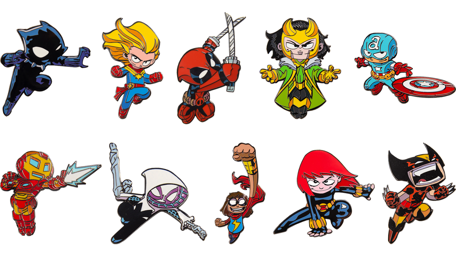 The Blot Says Skottie Young Marvel Comics Enamel Pins Are Back Thanks To Marvel Made