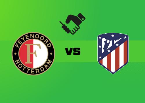 Feyenoord vs Atlético de Madrid  Resumen