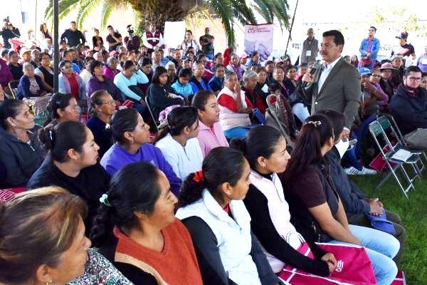 Mantiene Luis Alberto Arriaga el compromiso de regresar el hospital a San Pedro Cholula