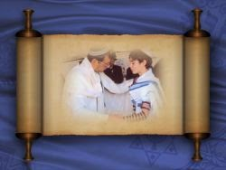 Torah Scroll Template