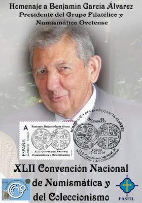 Tarjeta matasellada Benjamín García