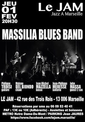 Massilia blues Band au Jam
