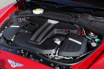 Bentley Continental GT: transmission 8 speed and displacement 5998 cc