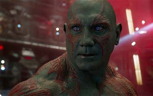 Dave Bautista berperan sebagai Drax the Destroyer, Guardians of the galaxy vol.2