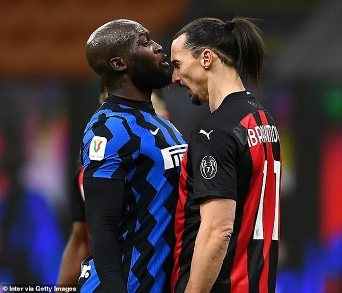 Zlatan and Lukaku fined for a combined sum of £7,000 for Milan Derby bust-up