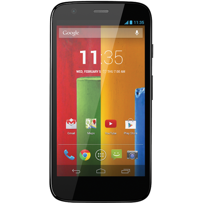 Motorola Moto G receives Android Lollipop in Canada