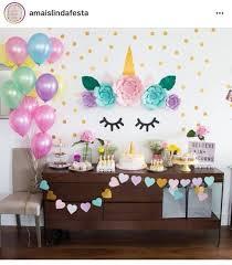 tematica de unicornio para cumpleaños
