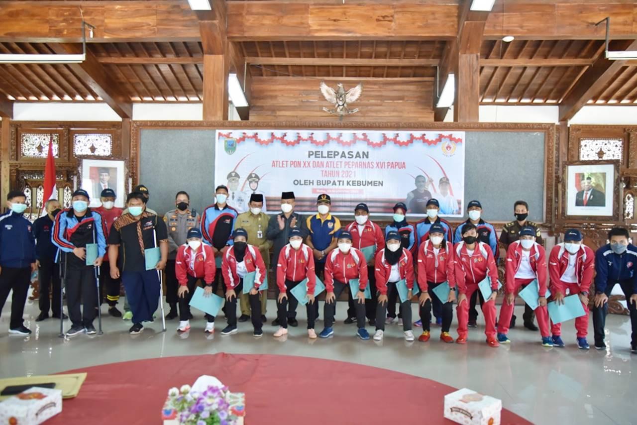 Gabung Kontingen Jateng, 22 Atlet Kebumen Ikuti PON dan Perpanas di Papua