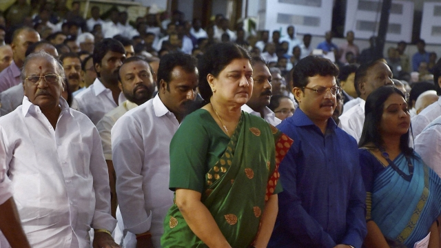 Sasikala Natarajan To be New Chief Minister of Tamil Nadu