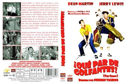 Carátula: ¡ Que par de golfantes ! (1953) The caddy