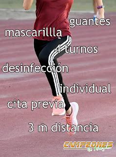 Atletismo covid-19 Aranjuez