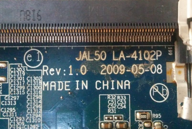 LA-4102P NVIDIA COMPAQ CQ45-318TX Laptop Bios