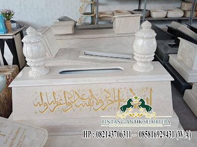 Model Makam Marmer Islam