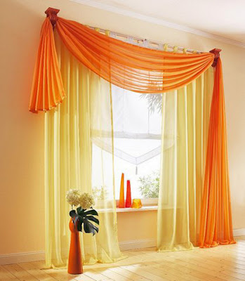 Vibrant Sunshine Curtain Design