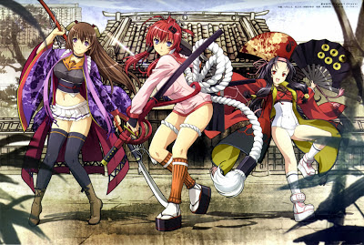 Samurai Girls anime