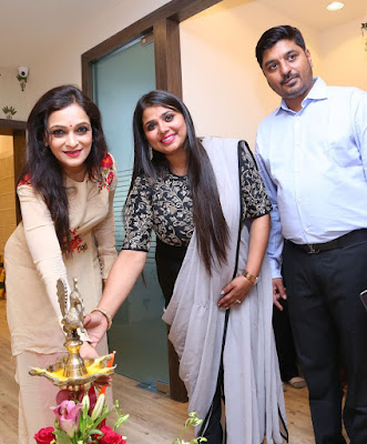 Designer-Vinita-Pittie-Launches-Krishna-Silks-at-Hyderabad