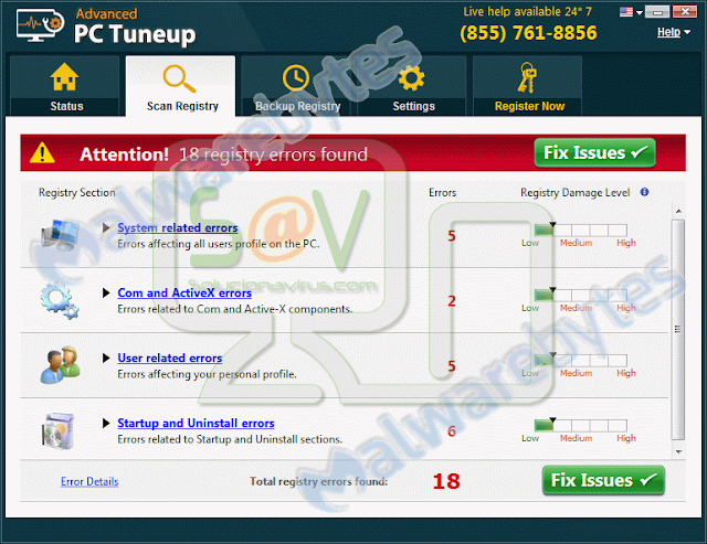 Advanced PC Tuneup (Falso optimizador)