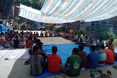 Ratusan Warga Hasinggaan Kumpulkan Tanda Tangan Ke Polres Samosir