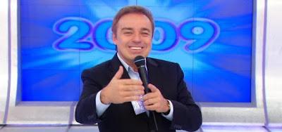 Gugu em sua estreia na Record; apresentador teve morte encefálica após acidente doméstico