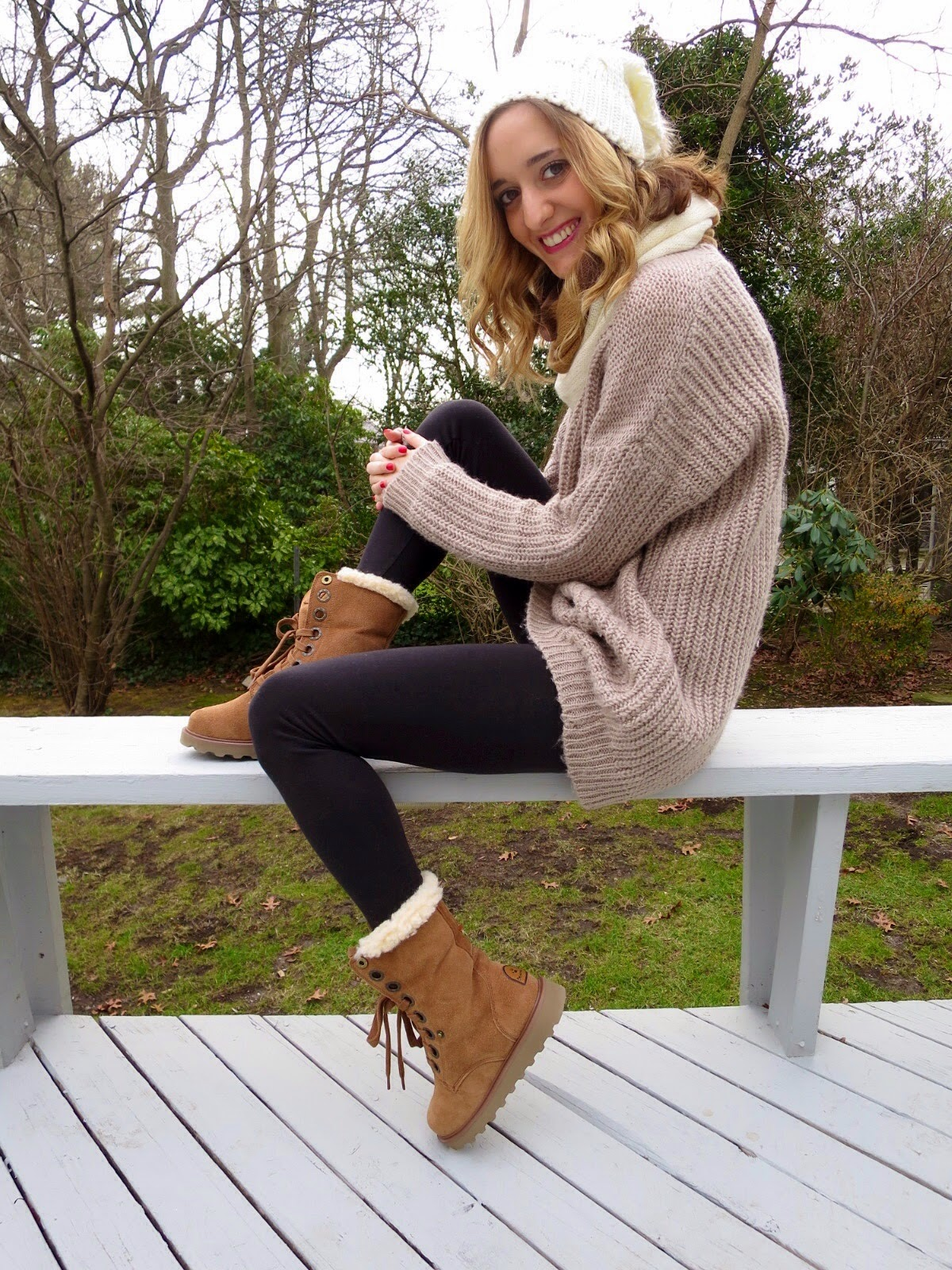 bearpaw boots outfit