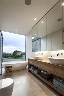تصميم الحمامات على الطراز الكلاسيكي