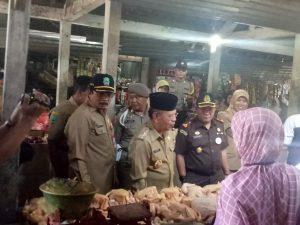 Pastikan Ramadhan Persediaan Bahan Pokok Aman, Bupati Magetan Sidak Pasar.