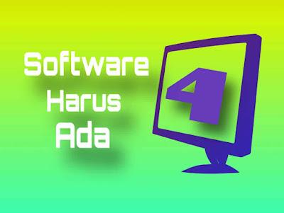 Software wajib pada komputer